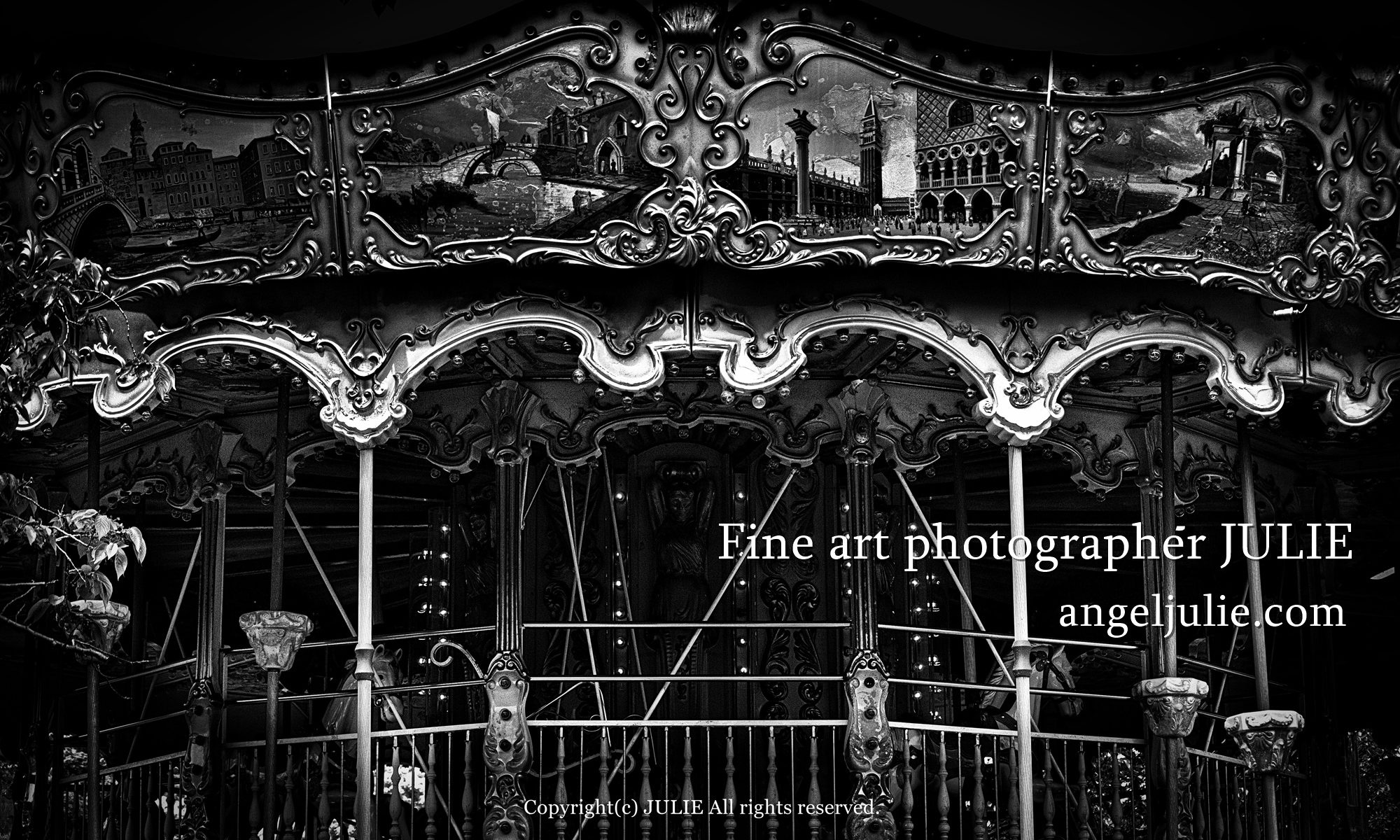Fine art photographer JULIE | Portfolio site