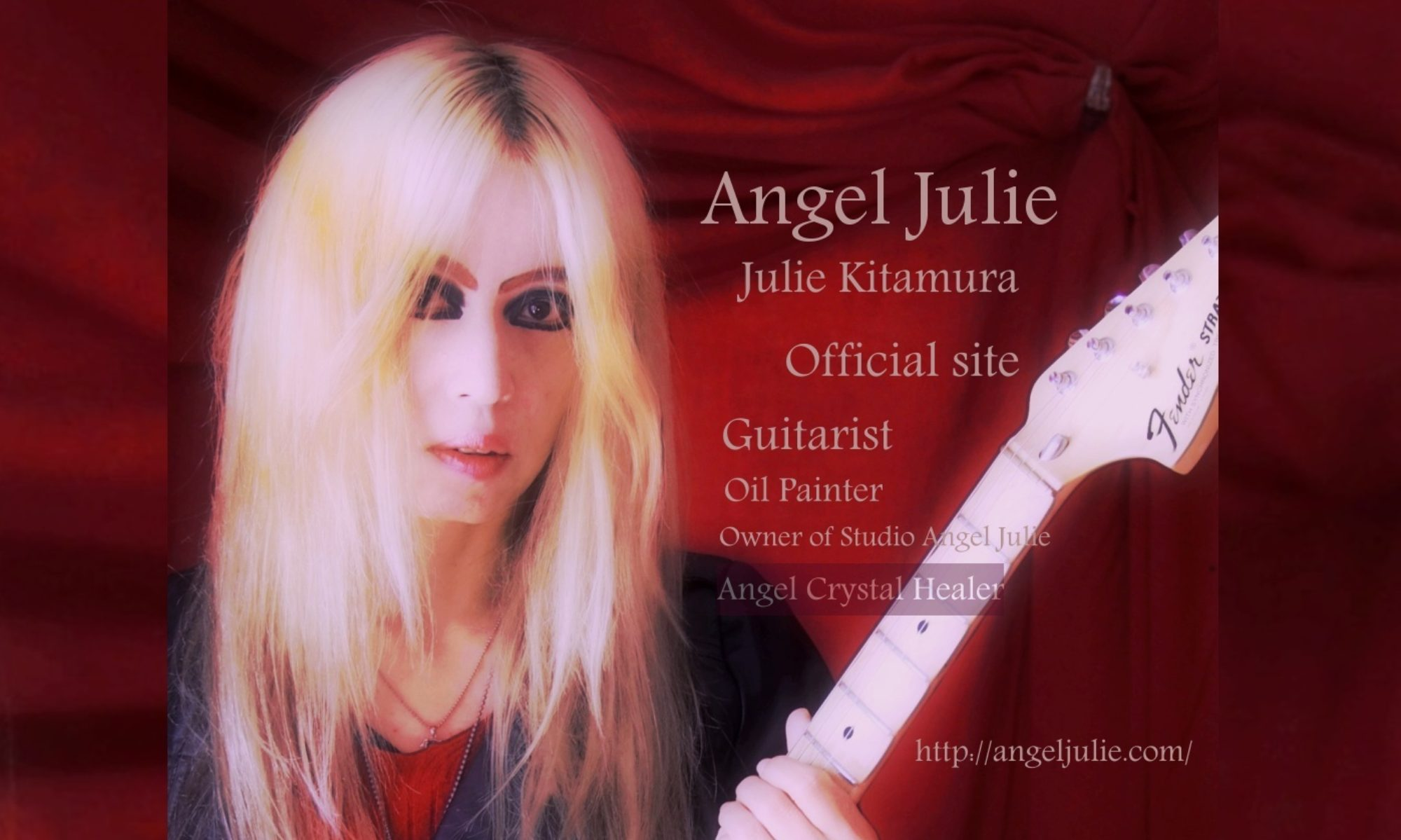 Angel Julie  - [Julie Kitamura/北村樹麗] Official site -The Book of Angels by Angel Julie